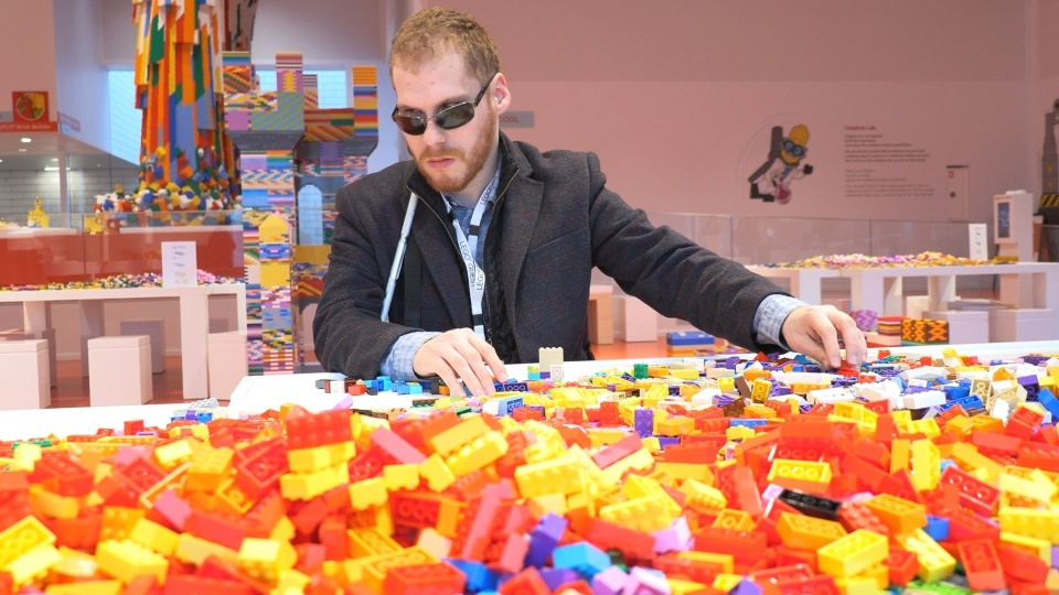 Matthew Shifrin at Lego House