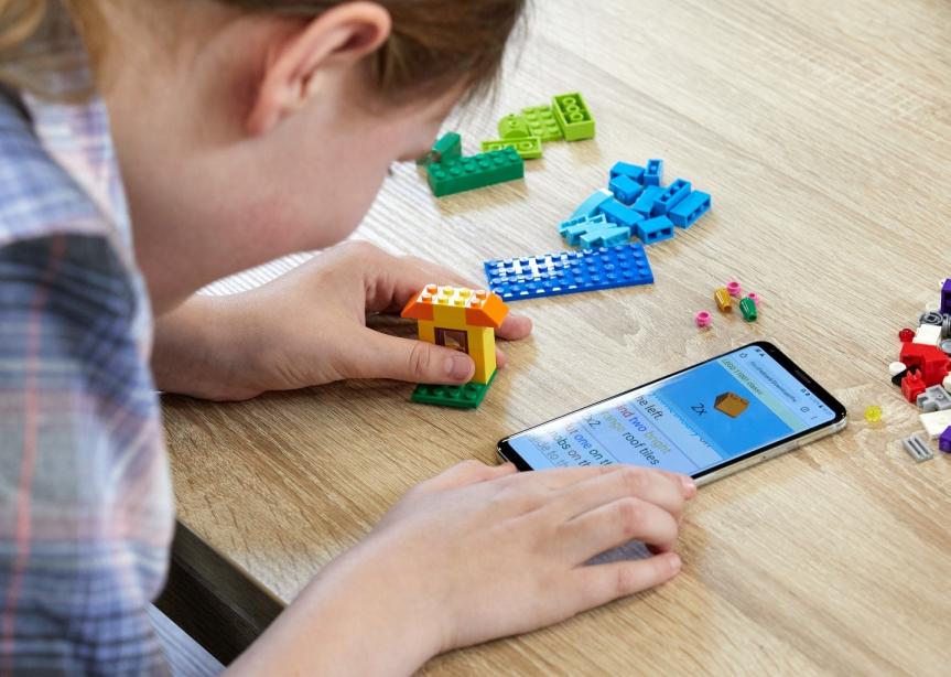 Lego Audio Braille Instructions Test