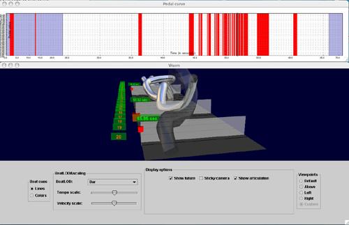 Interactive Visualization of Expressive Piano Performance